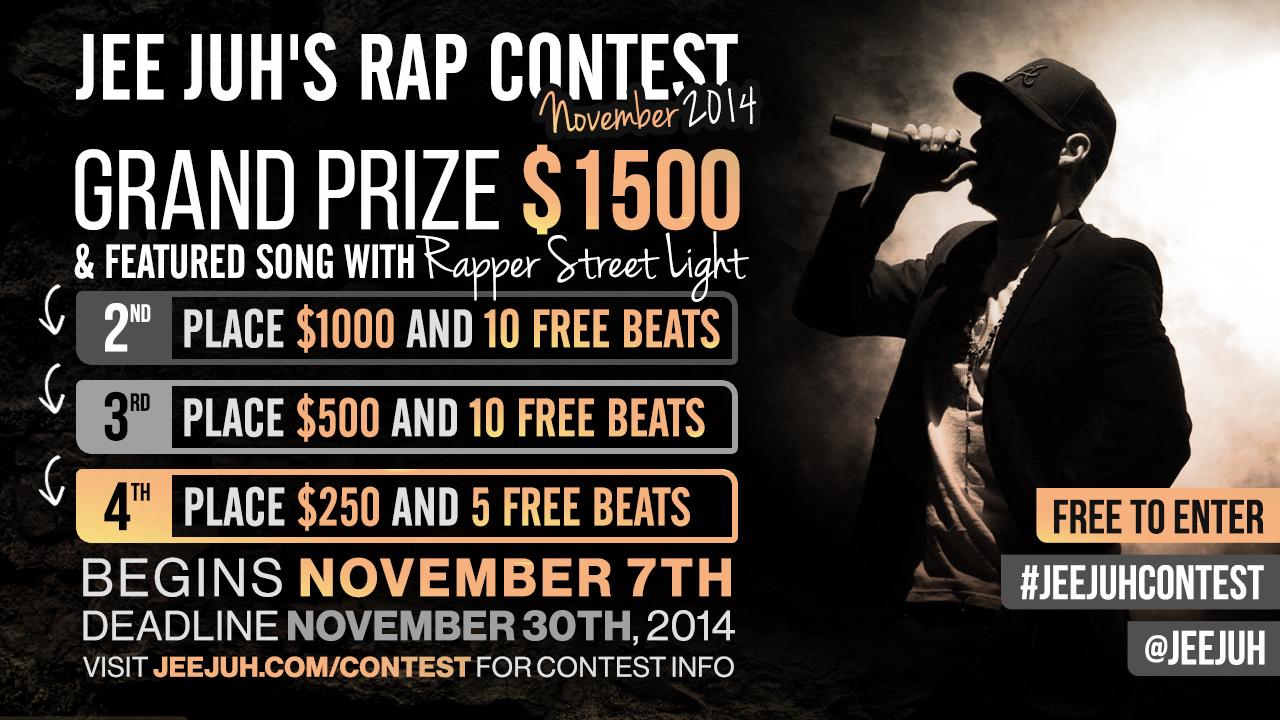 Jee Juh Rap Contest Nov 2014