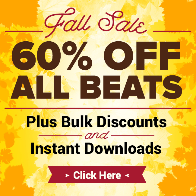 60% Off All Beats - Click Here!