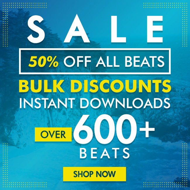 50% Off All Beats - Click Here!