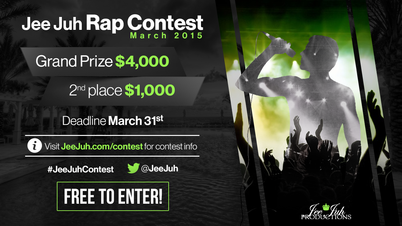 Jee Juh Rap Contest March 2015